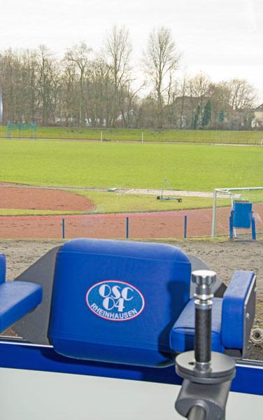Sportwelt blick ins Grüne